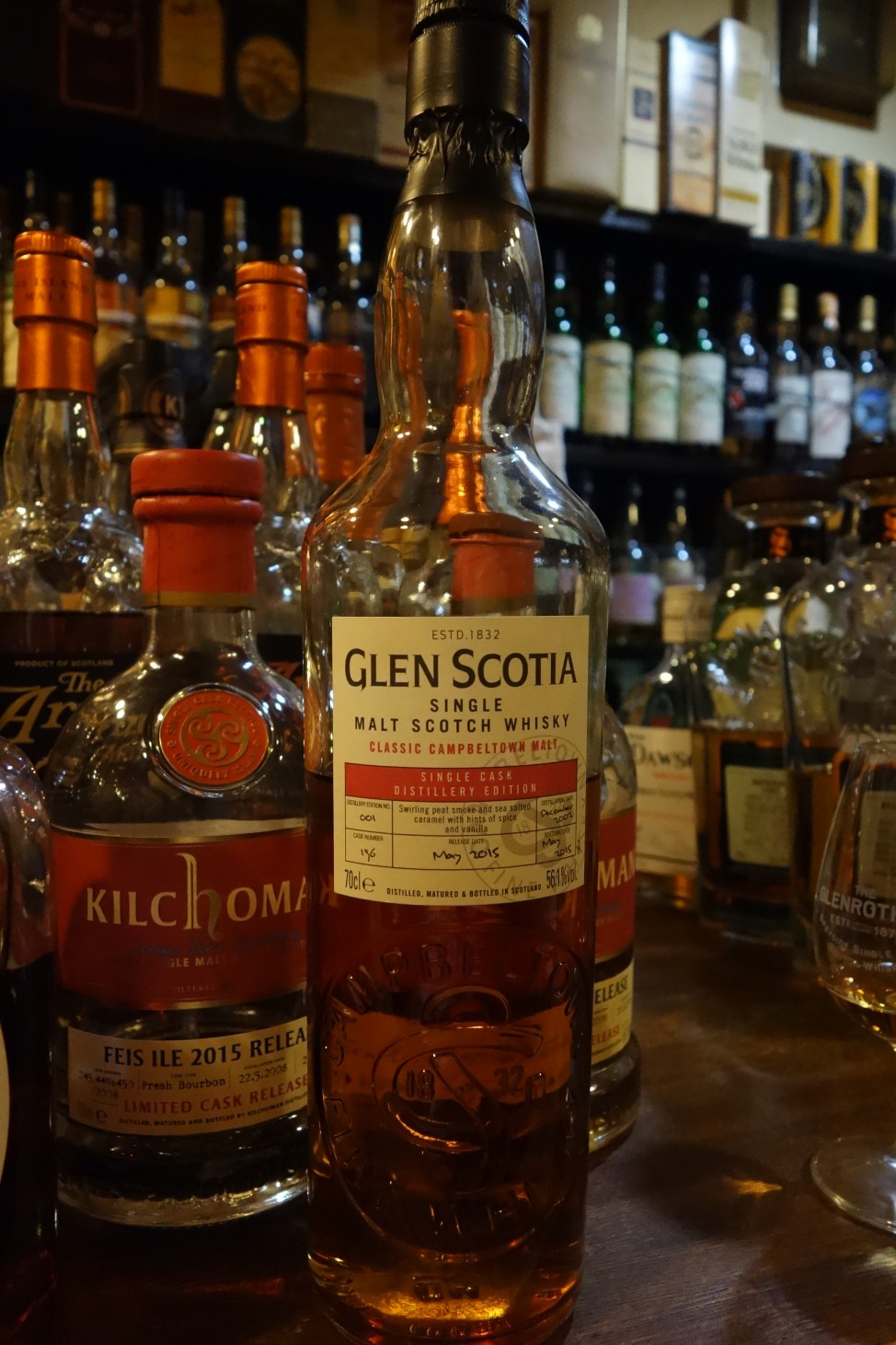 GLENSCOTIA 2002-2015 12yo OB #196 DISTILLERY EDITION No.001