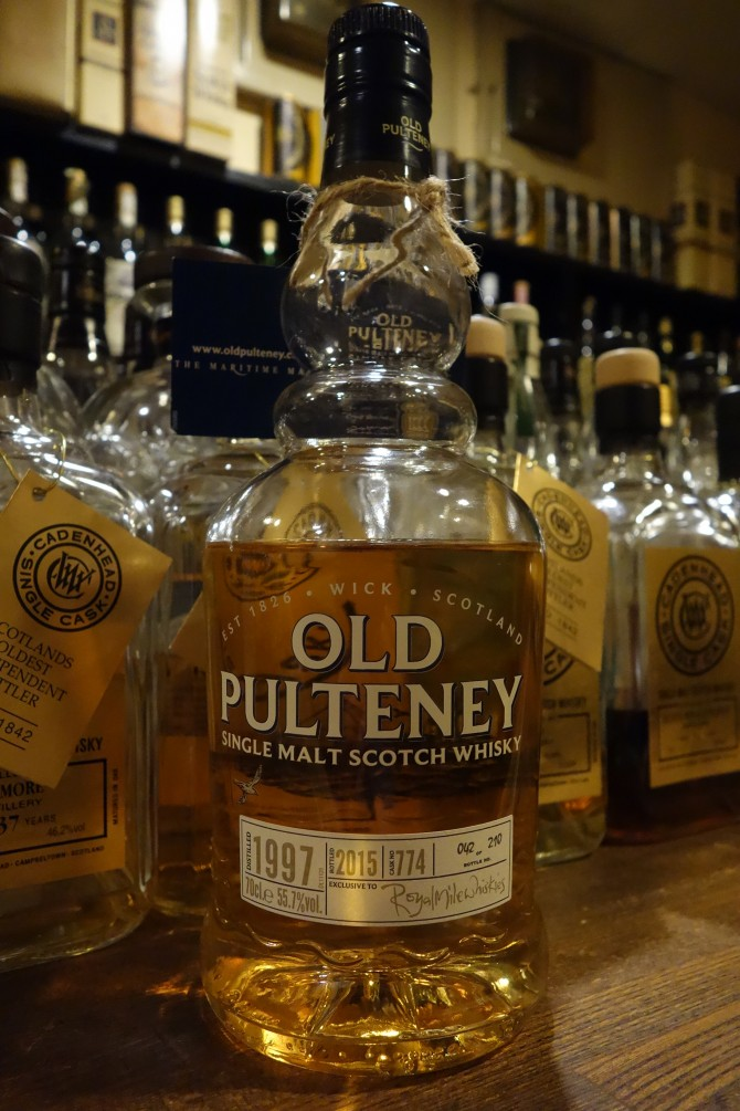 PULTENEY 1997-2015 OB for Royal Mile Whiskies #774