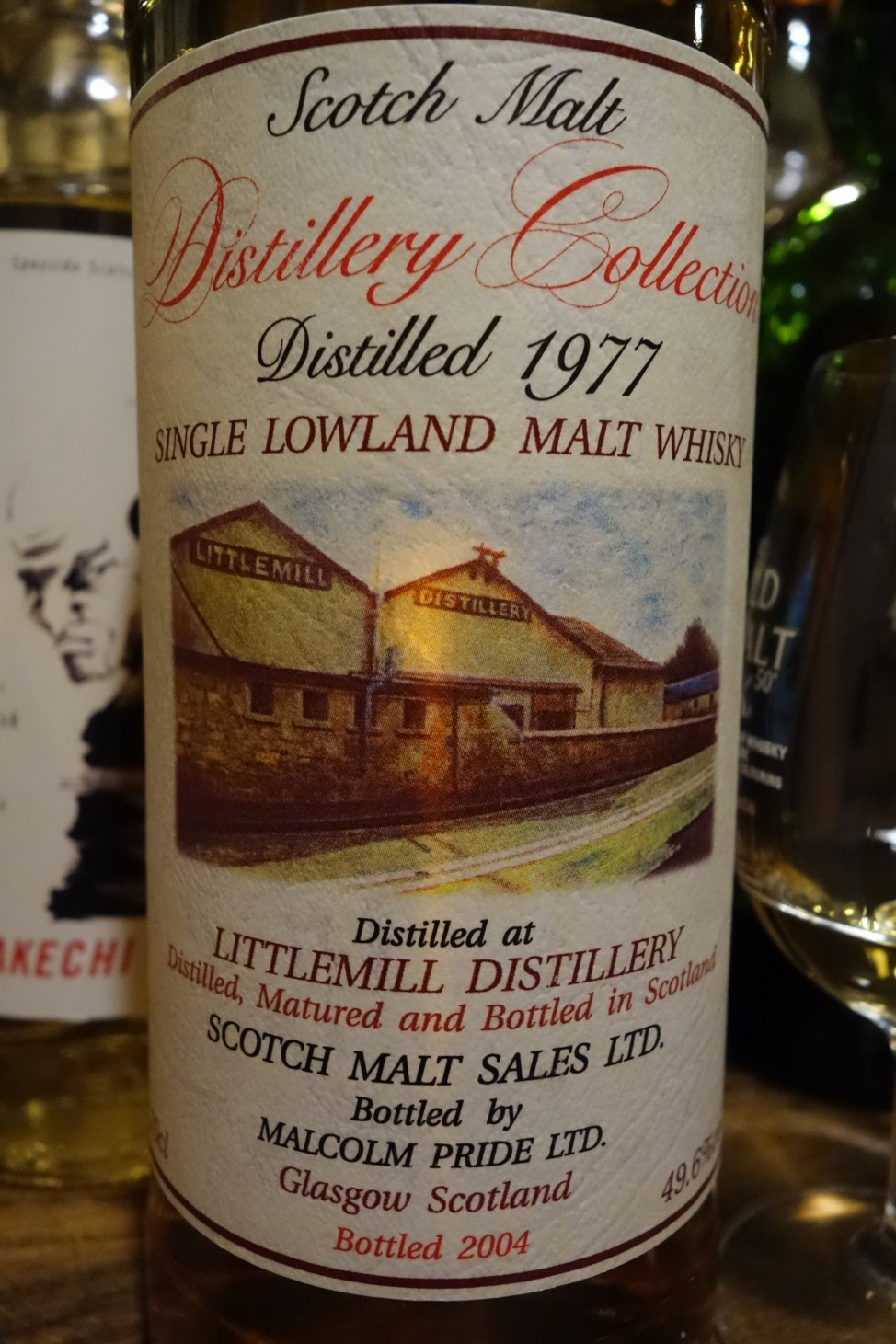 リトルミル LITTLEMILL 1977-2004 SCOTCH MALT SALES DISTILLERY COLLECTION