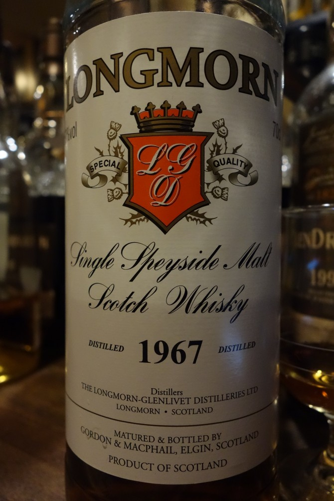 ロングモーン LONGMORN 1967-2008 GM Distillery Labels for JIS #3348