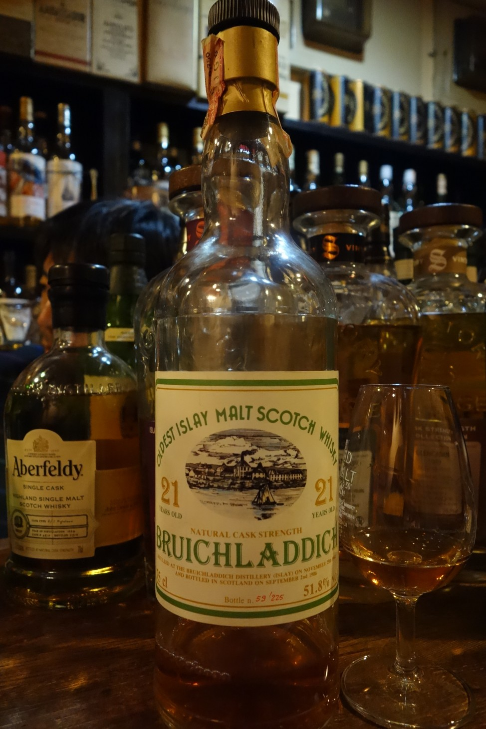 BRUICHLADDICH 1964-1986 21yo INTERTRADE