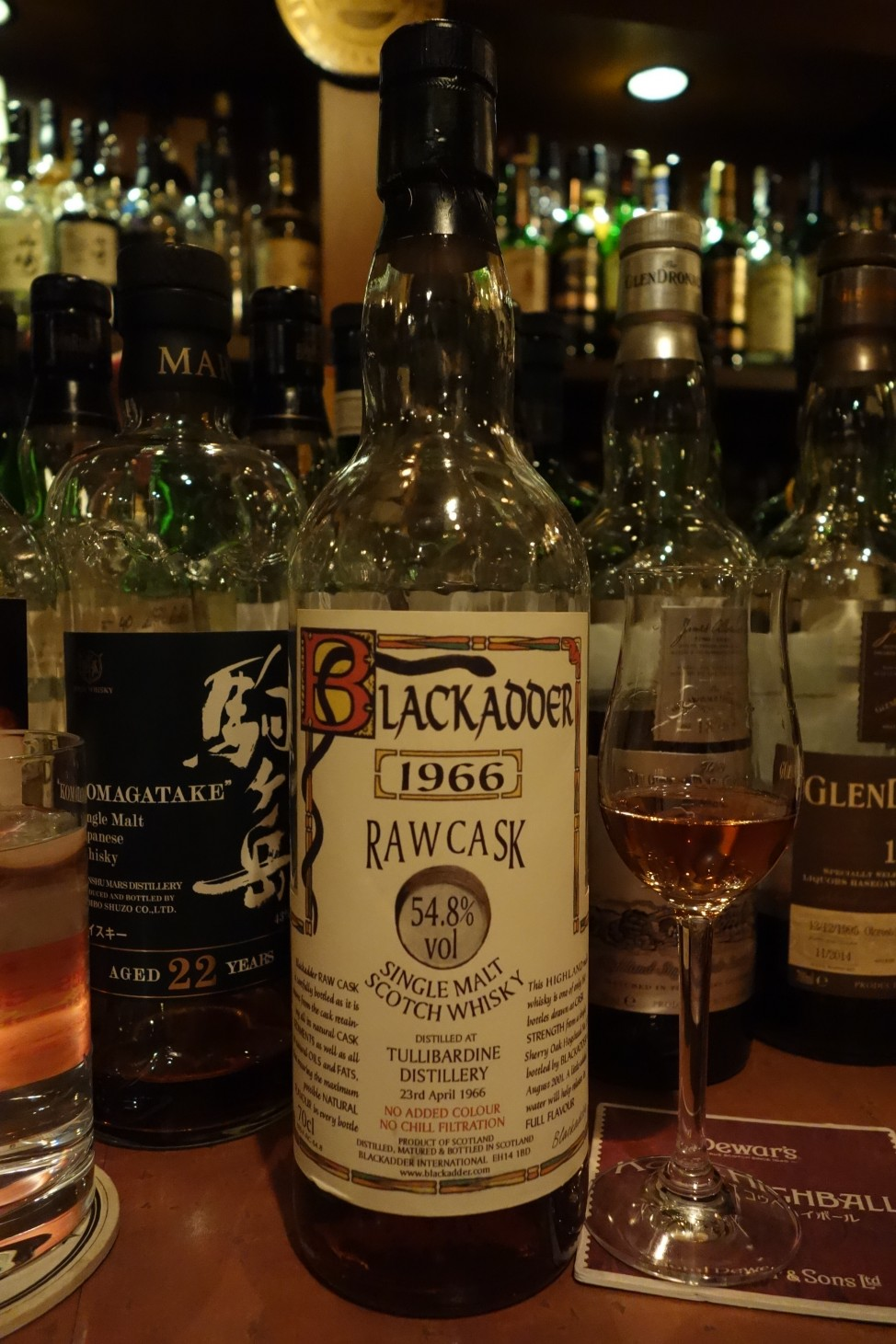 TULLIBARDINE 1966-2001 35yo BLACKADDER RAW CASK #2121