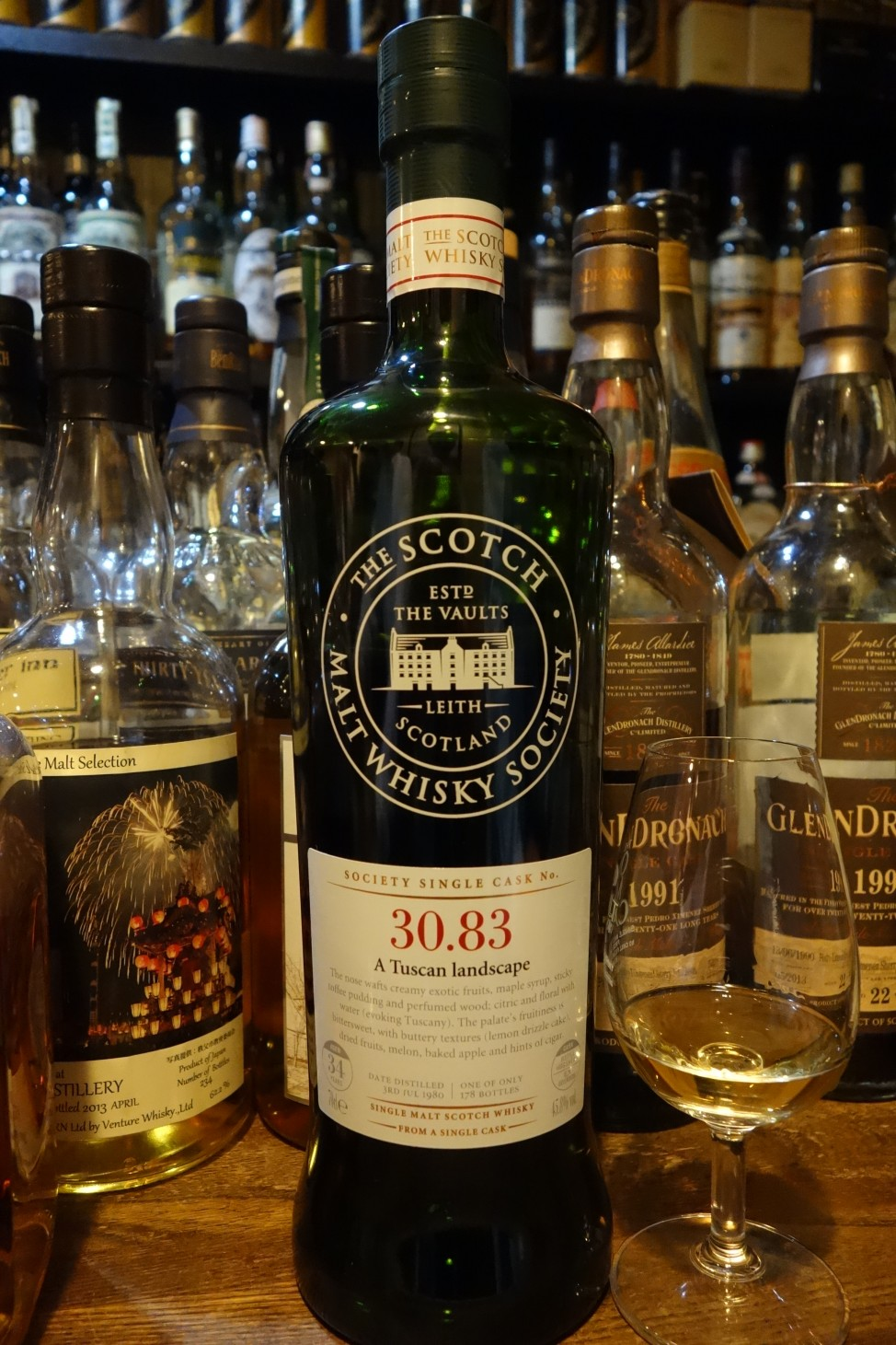 GLENROTHES 1980 34yo THE SCOTCH MALT WHISKY SOCIETY 30.83