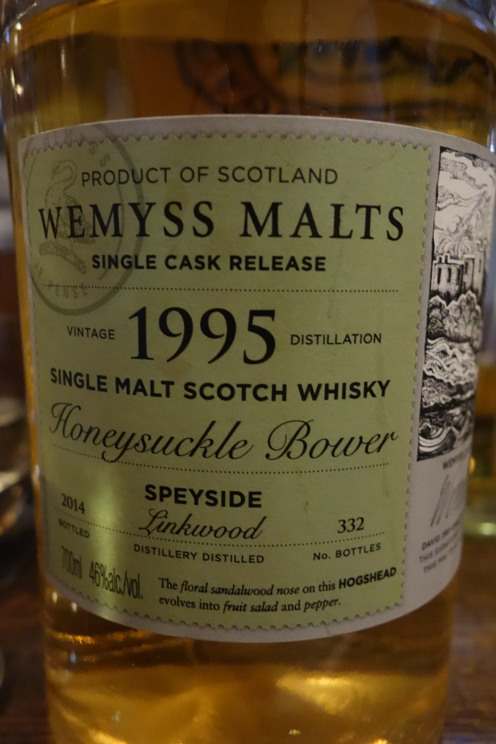 リンクウッド LINKWOOD 1995-2014 WEMYSS MALTS