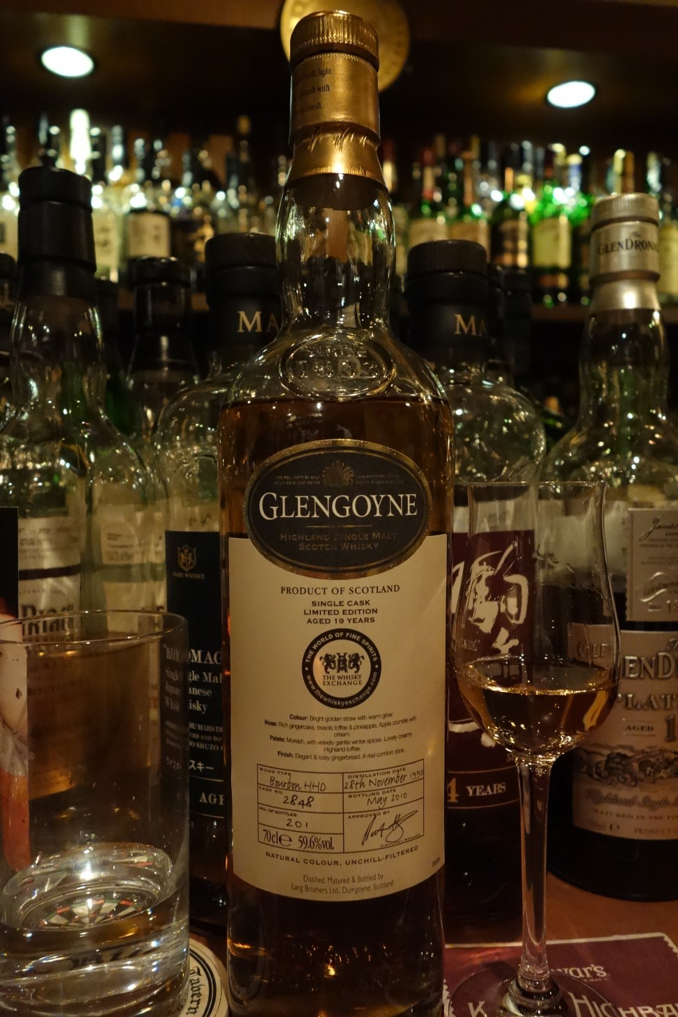 GLENGOYNE 1990-2010 19yo OB for THE WHISKY EXCHANGE #2848