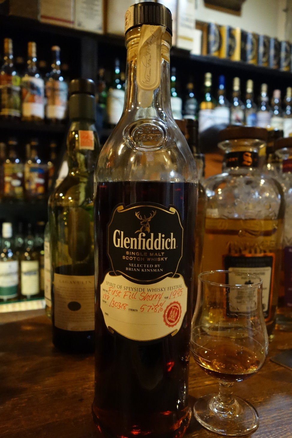 GLENFIDDICH 1995-2015 OB for SPIRIT OF SPEYSIDE WHISKY FESTIVAL #30318