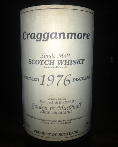 Cragganmore 1976 G&M for Sestante